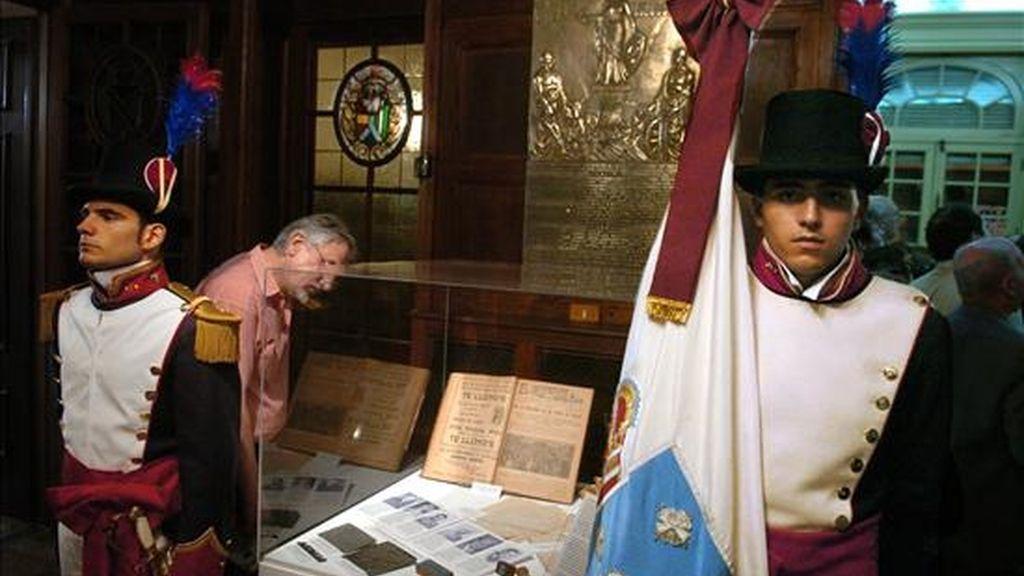 Fotografía del Museo de la Emigración Gallega en Argentina (MEGA), en diciembre de 2006 en Buenos Aires. Se calcula que entre 1857 y 1930 llegaron a Argentina más de un millón de gallegos, de los cuales aproximadamente la mitad se quedó en el país. EFE/Archivo