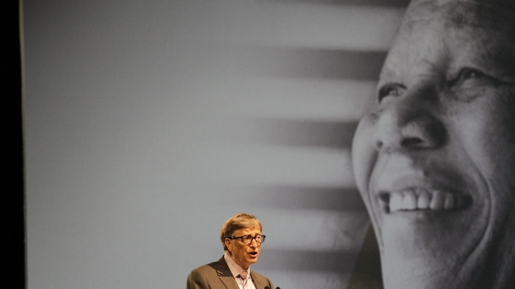 Bill Gates, en la lectura anual Nelson Mandela