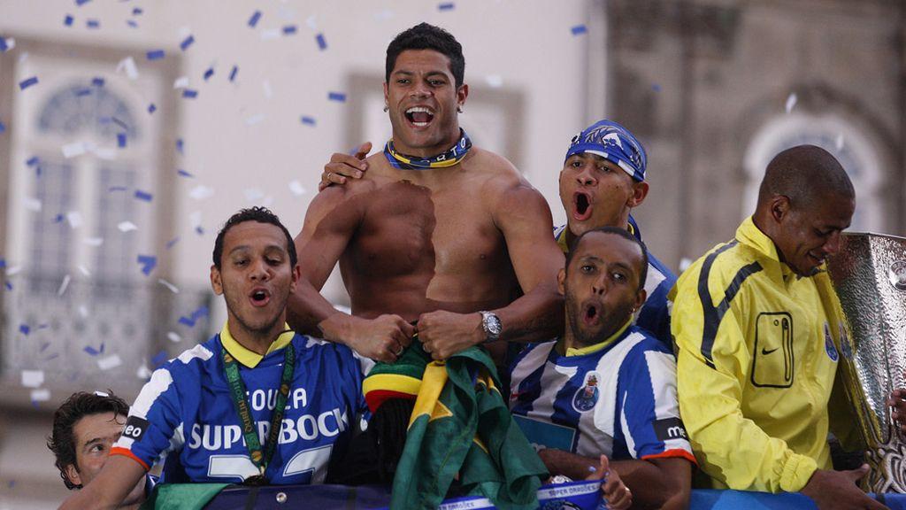 Hulk (23º): El torso brasileño más fuerte del fútbol