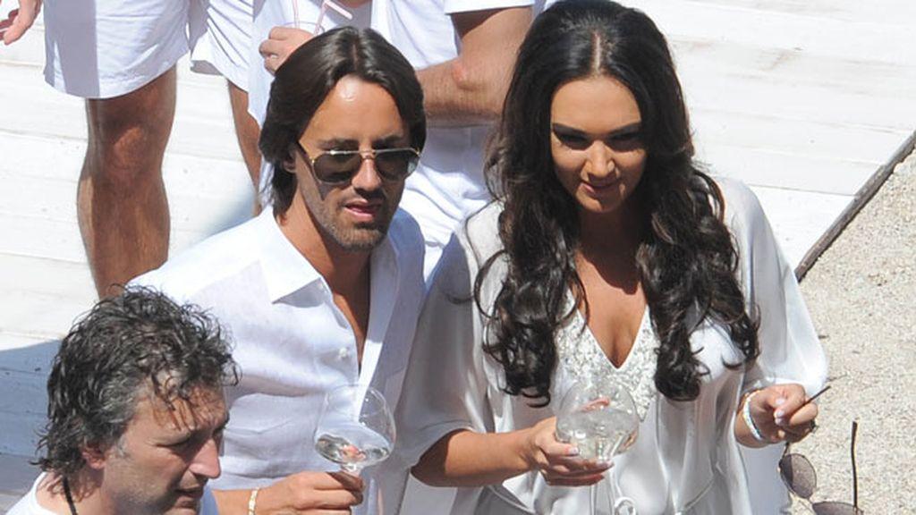 La pareja se conoció en enero, después de que Tamara rompiera con Omar Khyami