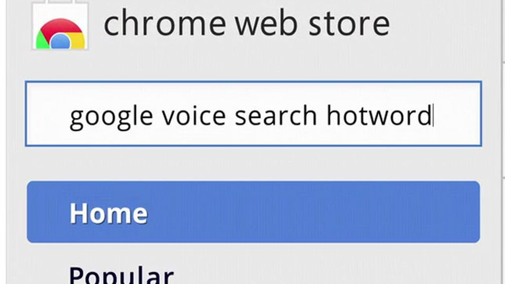 Ok, Google, Chrome