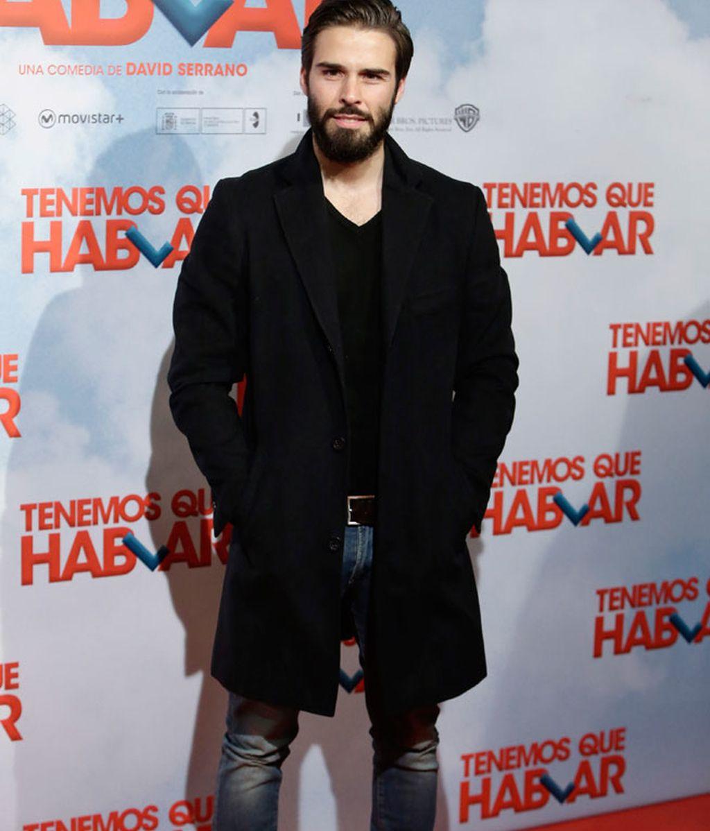 El actor Álex Barahona