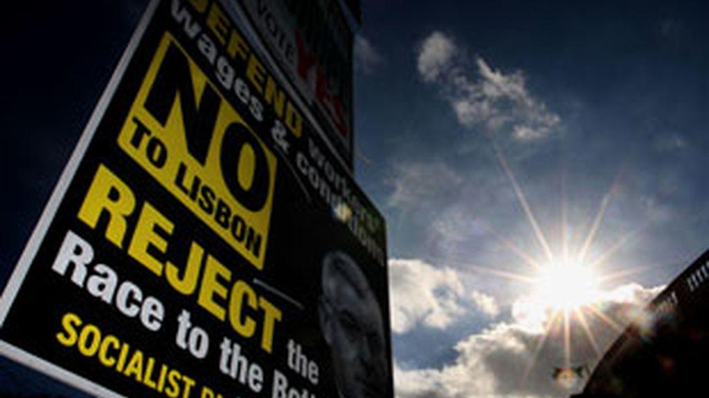 Vence el 'no' en Irlanda. Vídeo: ATLAS