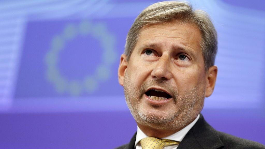 Johannes Hahn, comisario de Ampliación de la UE