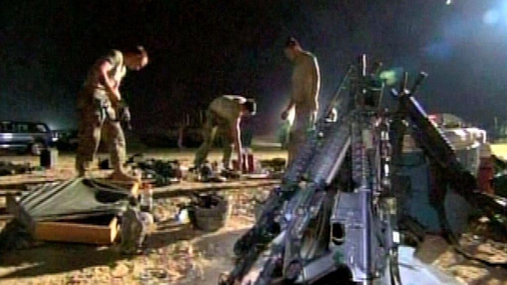 Las tropas de EEUU abandonan Irak