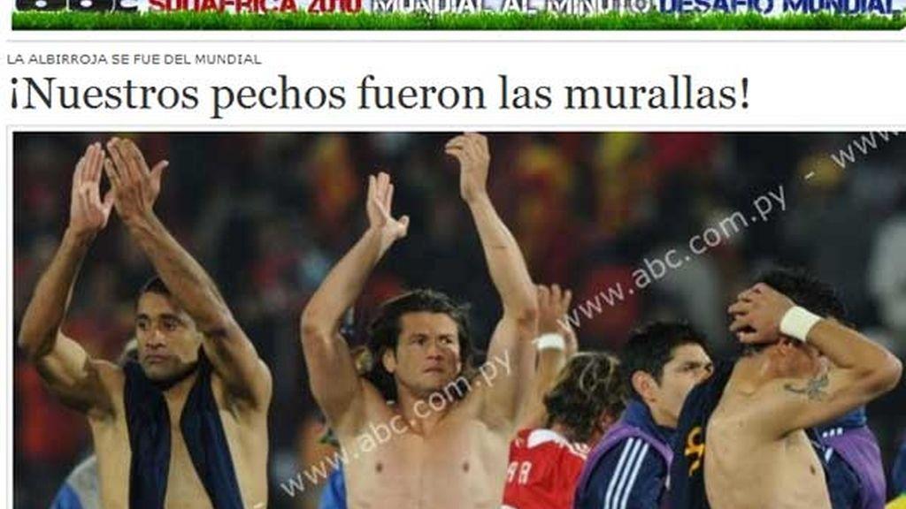 """Para 'ABC digital' el árbitro perjudicó a la albirroja y alaba a los suyos: """"Paraguay dio todo y murió de pie"""""""