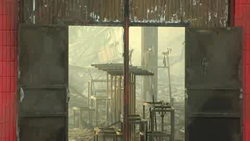 Incendiado un almacén chino en Valdemoro