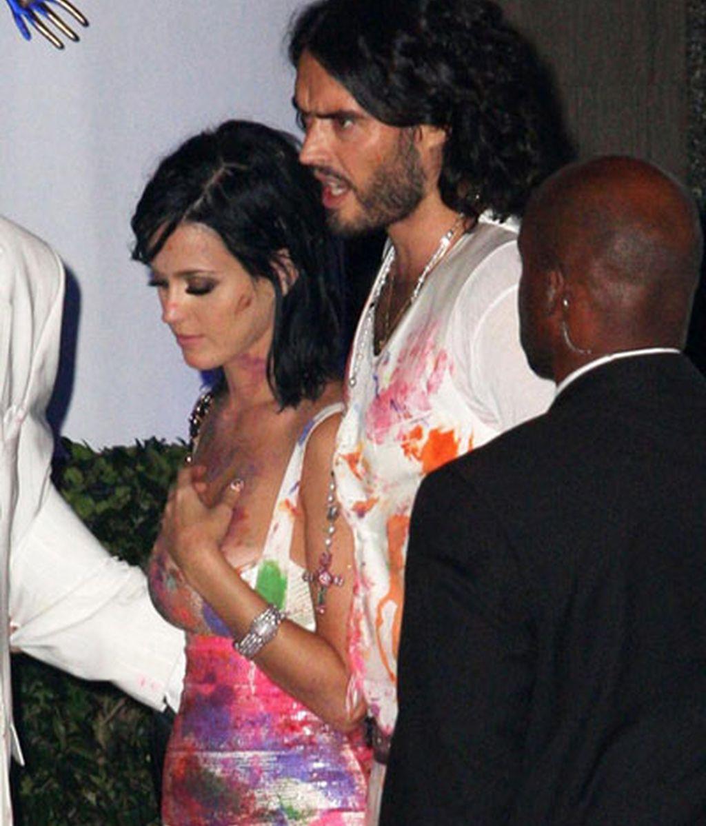 Cumpleaños de Katy Perry...¡Pasado por pintura!