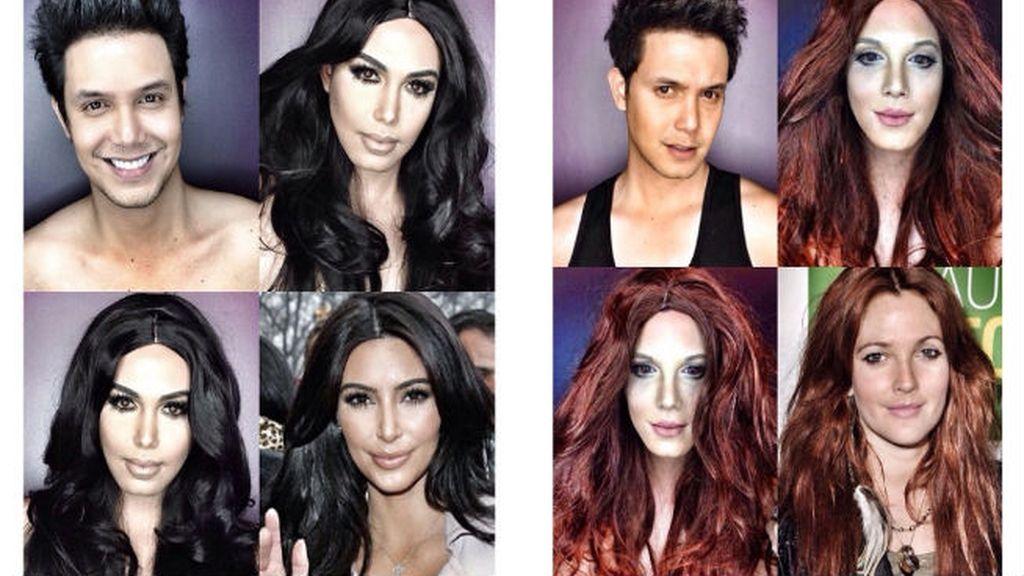 Imposible no querer ser como Kim Kardashian o Drew Barrymore