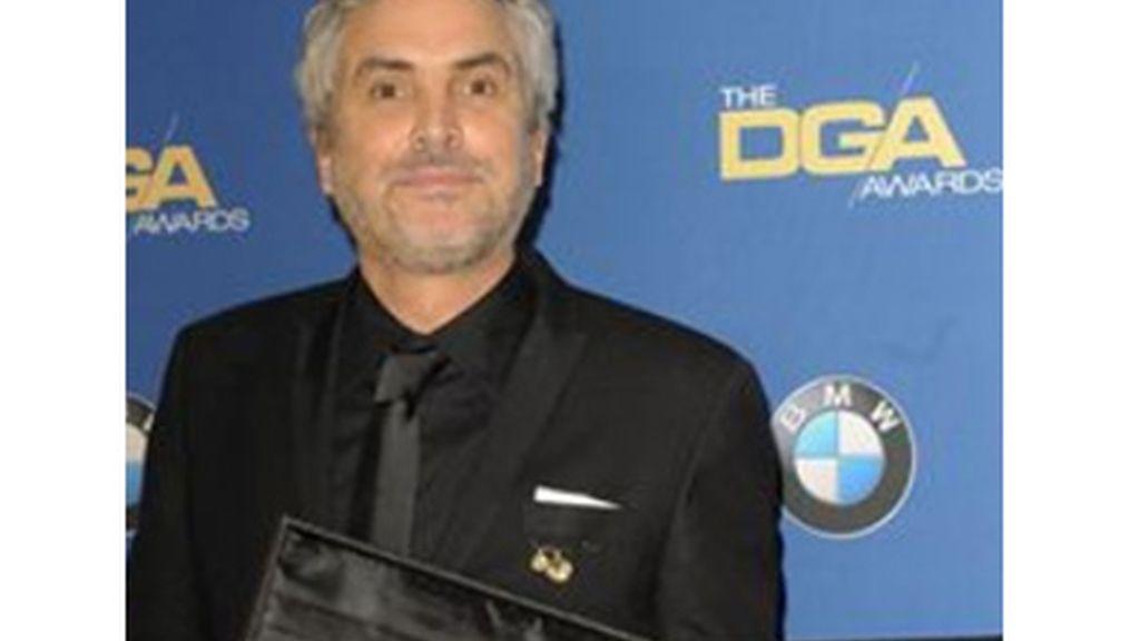 Cuarón gana el premio del Sindicato de Directores por Gravity