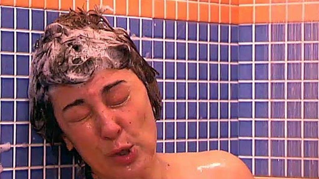 ¡Araceli y Enrique juntos en la ducha!