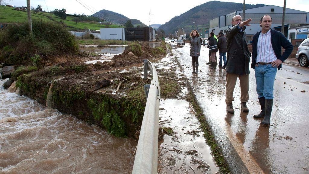 El temporal deja su huella en Cantabria