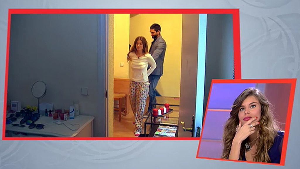 Isaac se presenta por sorpresa en casa de Triana