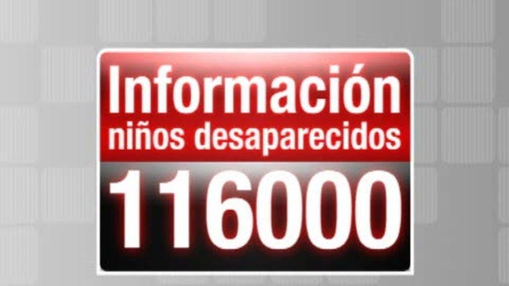 116000, el teléfono de niños desaparecidos
