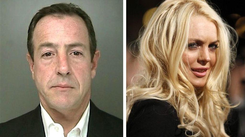 El padre de Lindsay Lohan, detenido por violar una orden de alejamiento. Fotos: AP / Reuters