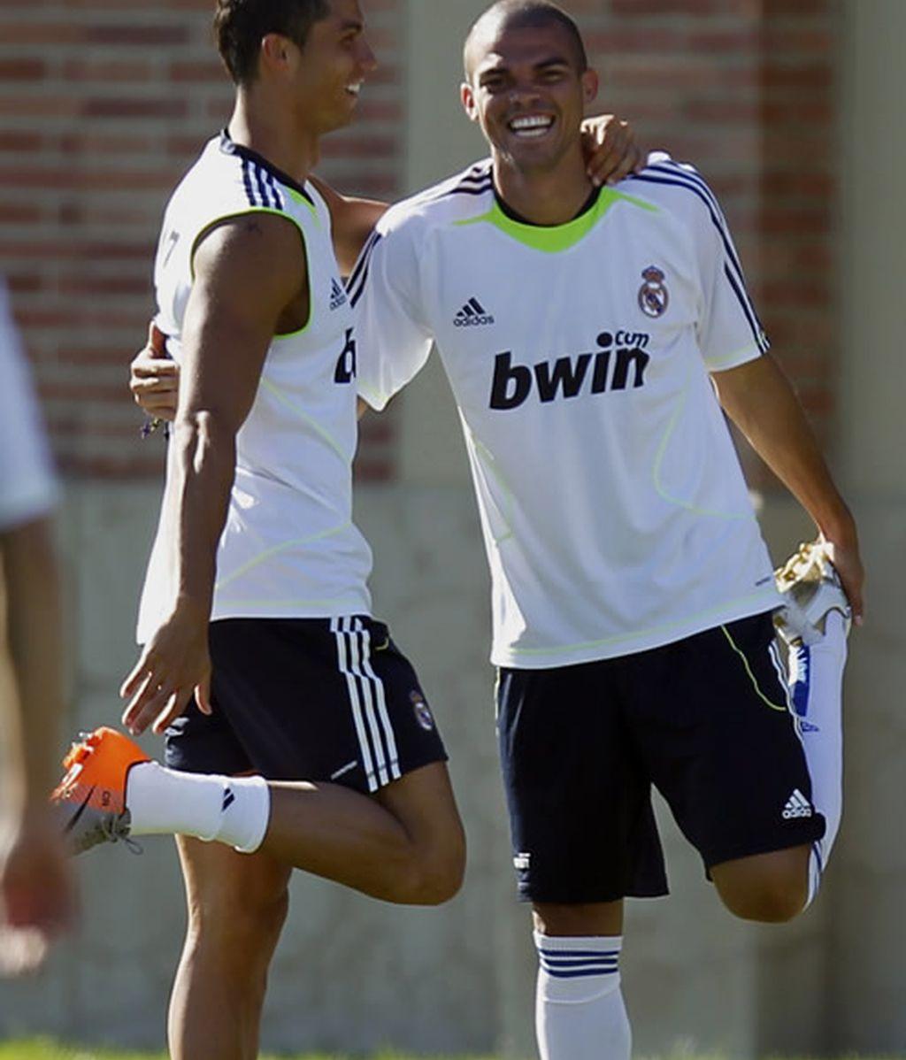 Pepe, lesionado, se perderá el resto de la pretemporada