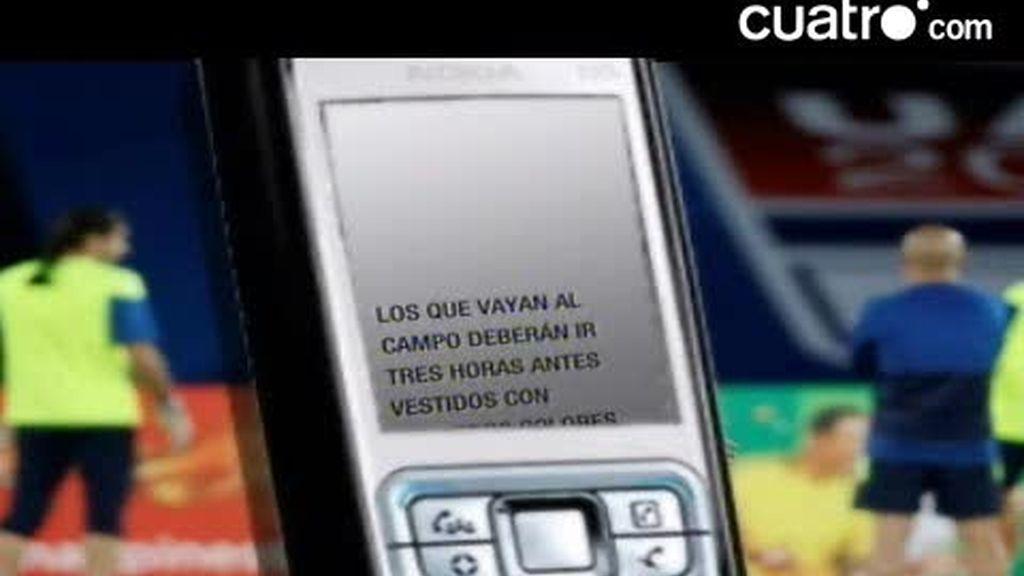 La petición del Barça a sus aficionados mediante sms
