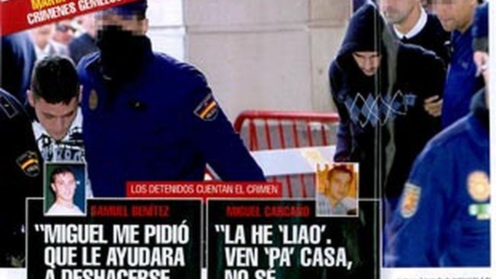 Las declaraciones de los detenidos en 'Interviú'
