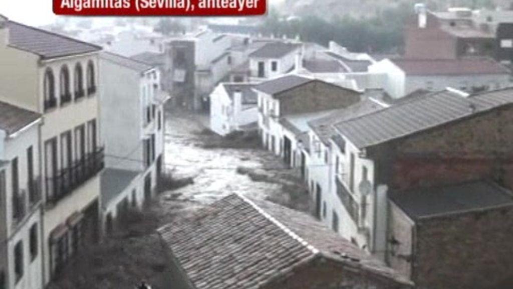 El diluvio universal en Sevilla