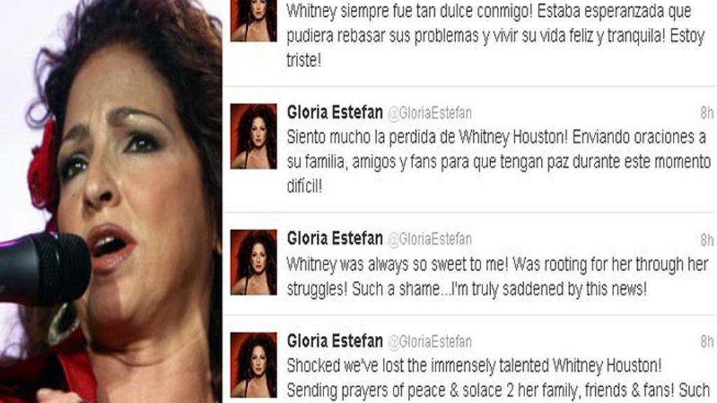 Twitter despide a Whitney Houston