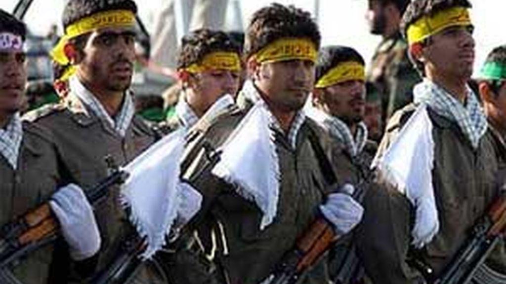 Miembros de la Guardia Revolucionaria, en una imagen de archivo.