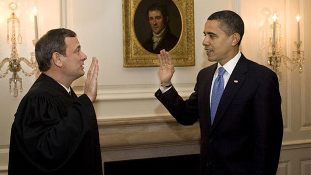 Obama repite el juramento