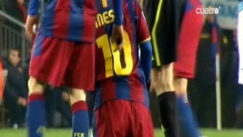 Messi, otro partido para enmarcar