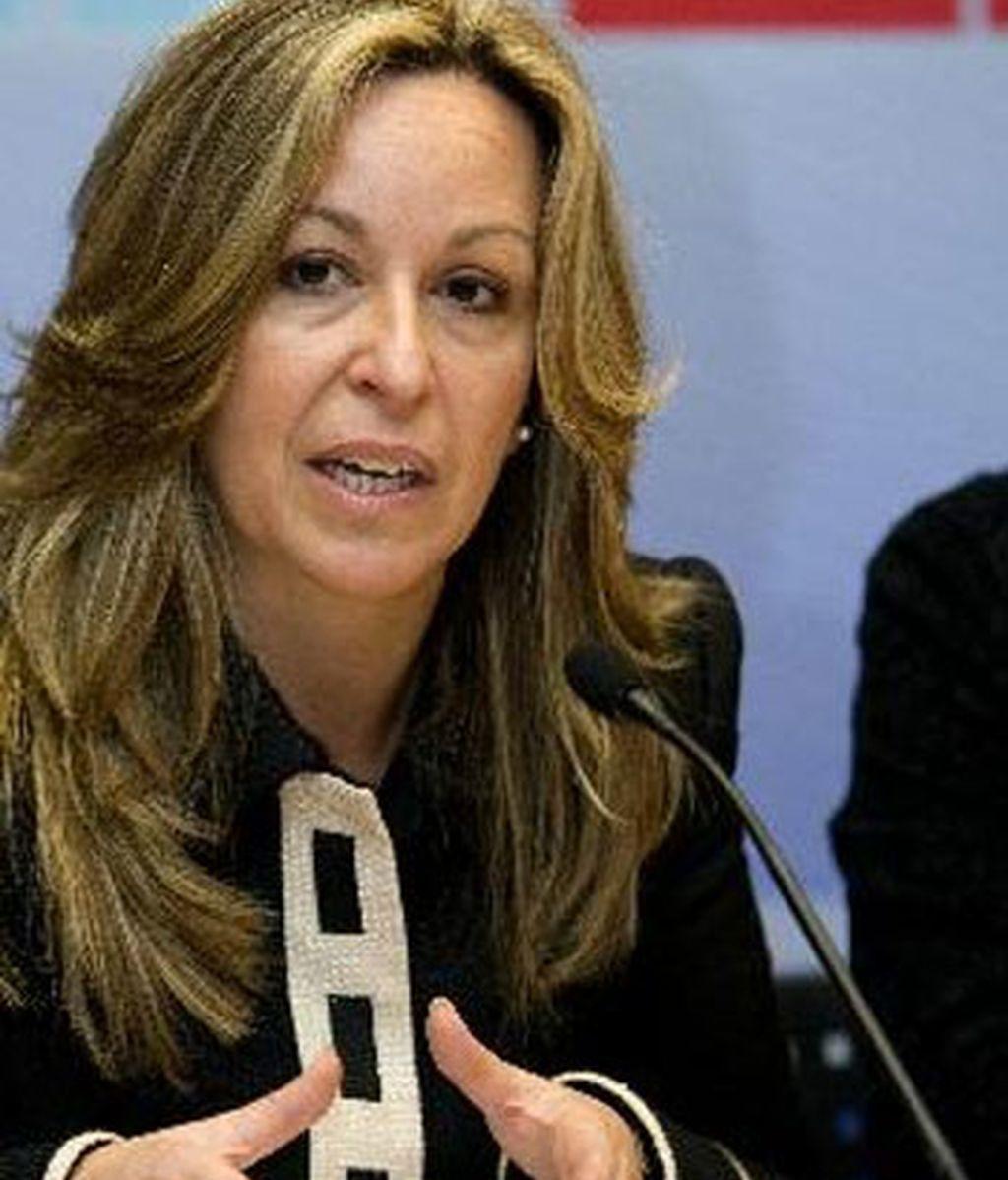 Trinidad Jiménez, ministra de Sanidad.