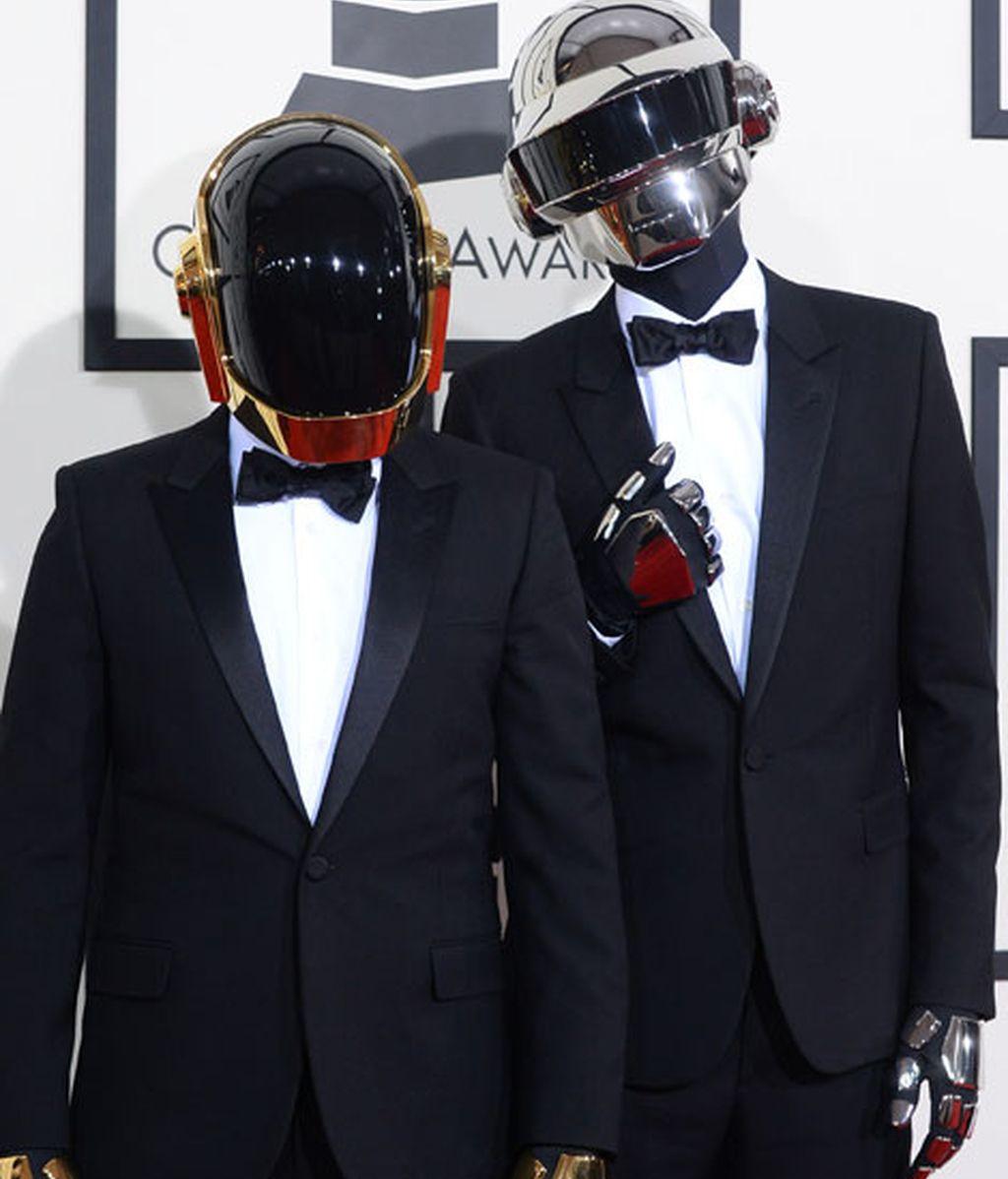 Daft Punk, triunfadores con cinco Grammys