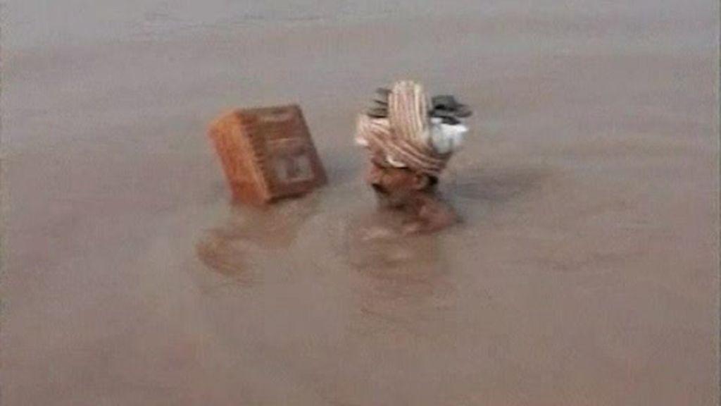 Las lluvias no dan tregua a Pakistán