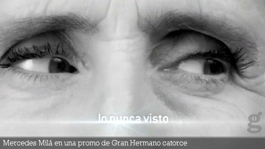 Mercedes Milá en una promo de Gran Hermano catorce