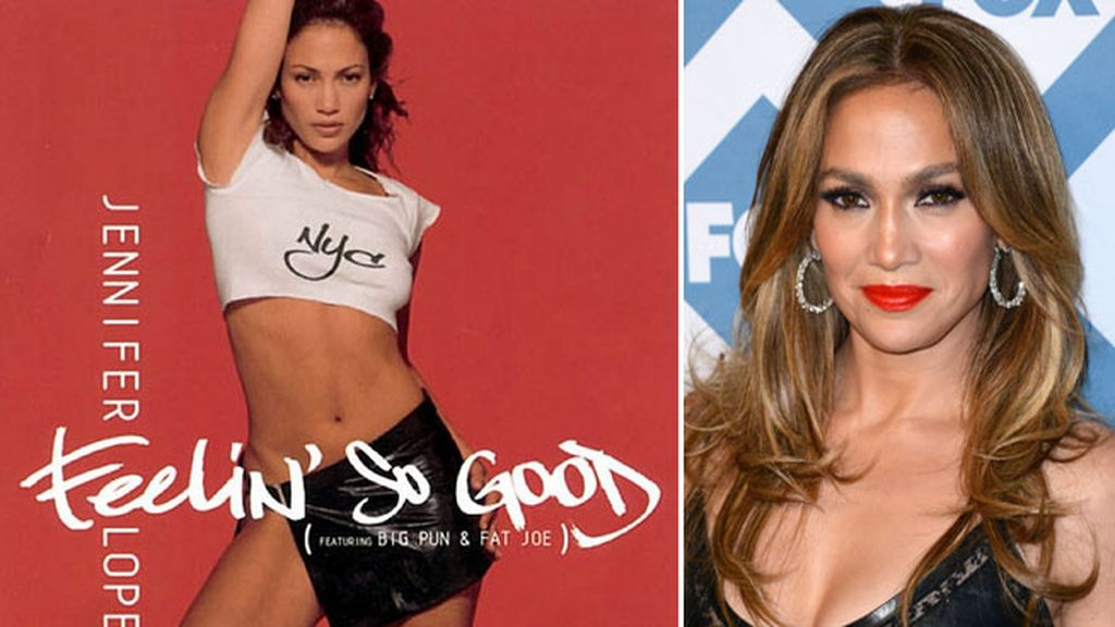 Una joven y sexy Jennifer Lopez