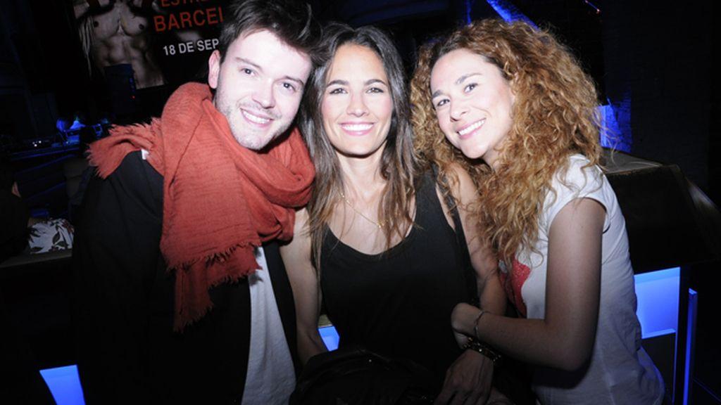 Antonio Díaz, María Chacón y Natalia Belda