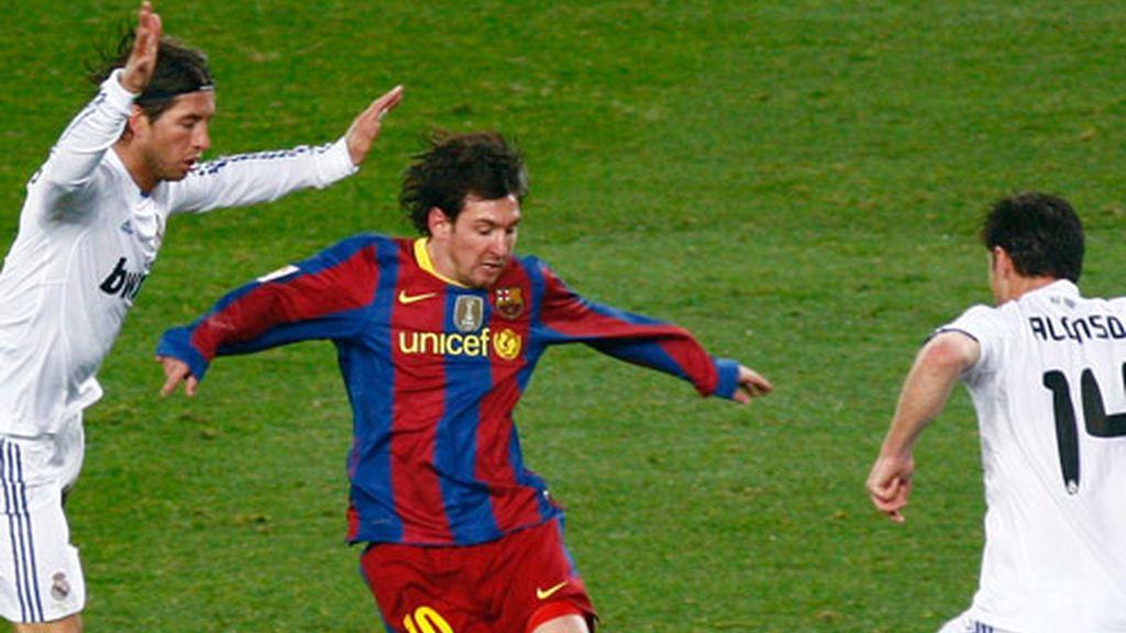 Los regates de Messi