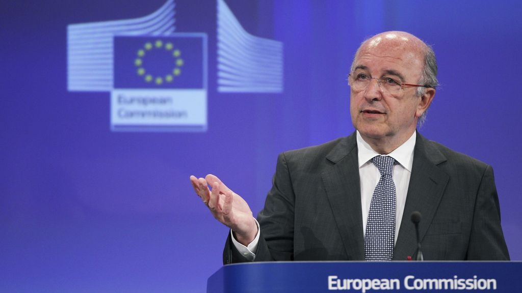 El comisario europeo de Competencia, Joaquín Almunia