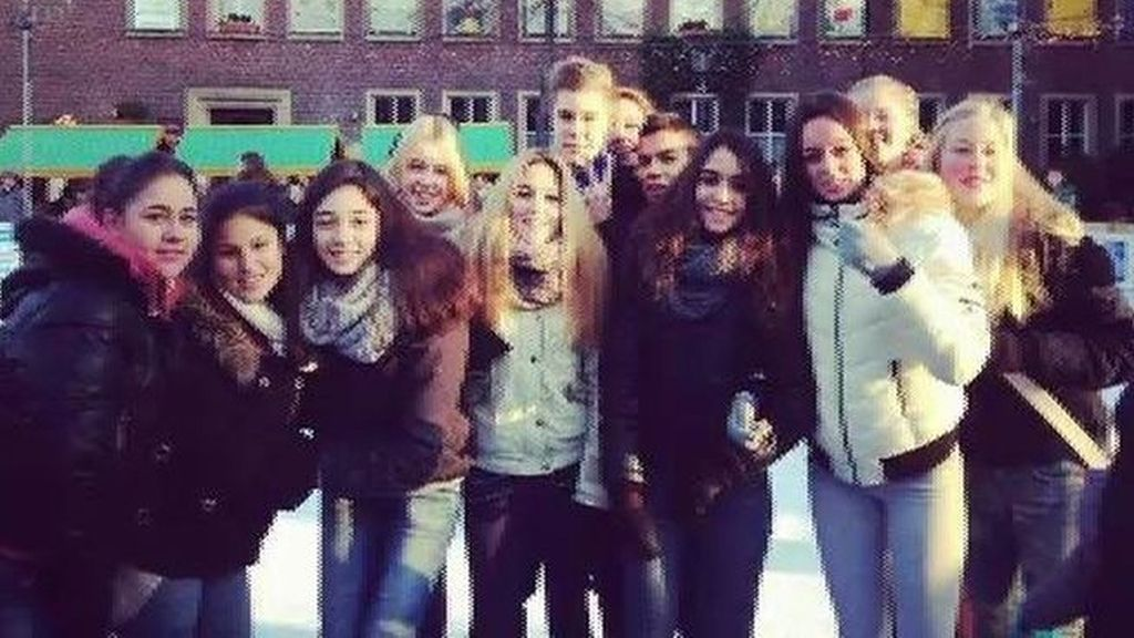 Estudiantes alemanes que viajaban en el Airbus accidentado