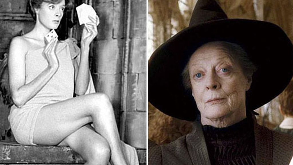 MAGGIE SMITH  - MINERVA MCGONAGALL