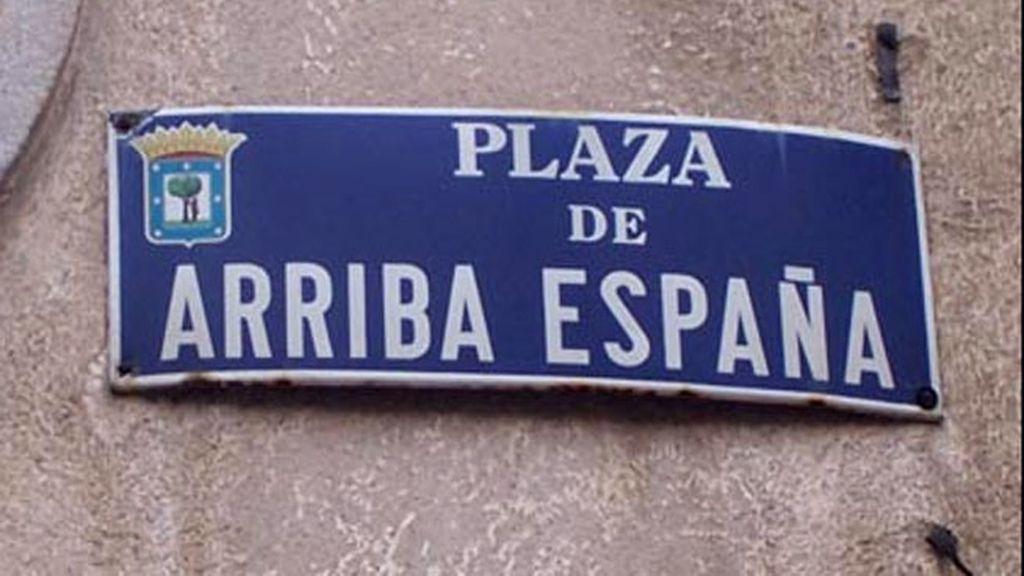 Ley de la Memoria Histórica,cambio nombre calles Madrid,nombres franquistas calles España