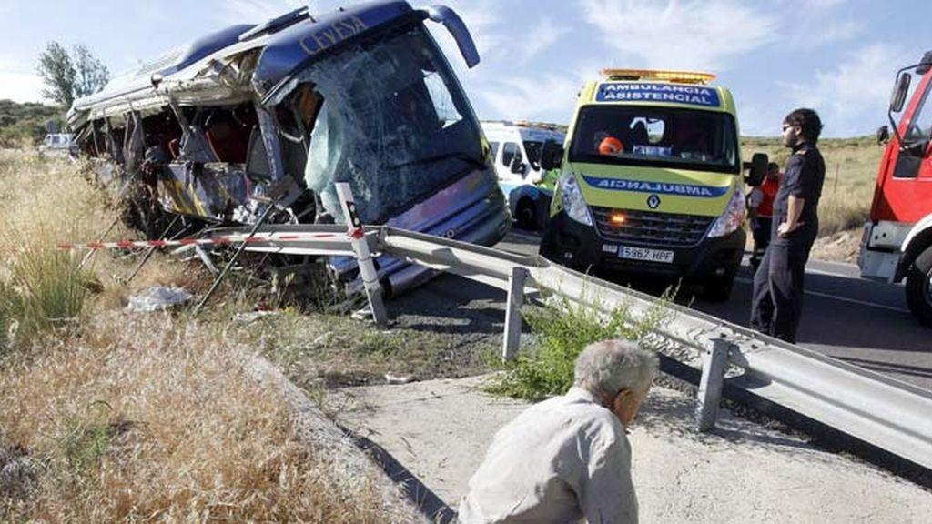 Trágico accidente en Ávila