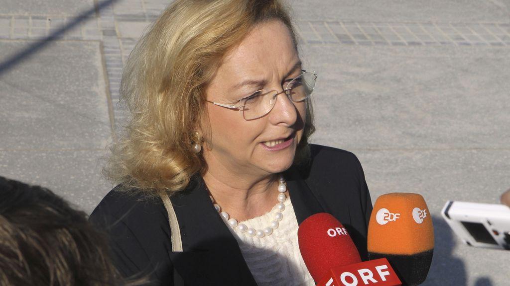 Maria Fekter, la ministra de Finanzas de Austria