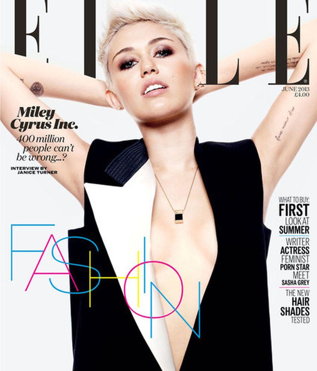 Miley Cyrus portada de Elle
