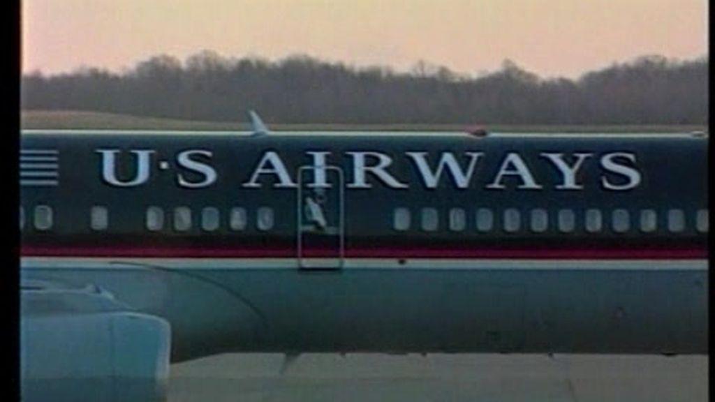 Un avión con gusanos