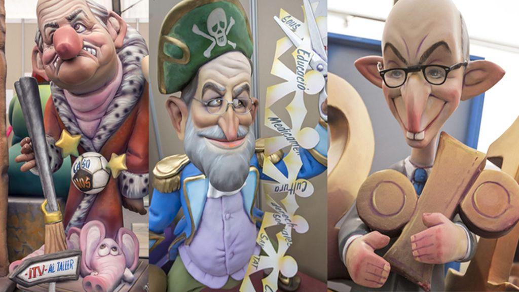 La sátira fallera pone este año su diana en el Rey, Rajoy, Montoro y Fabra