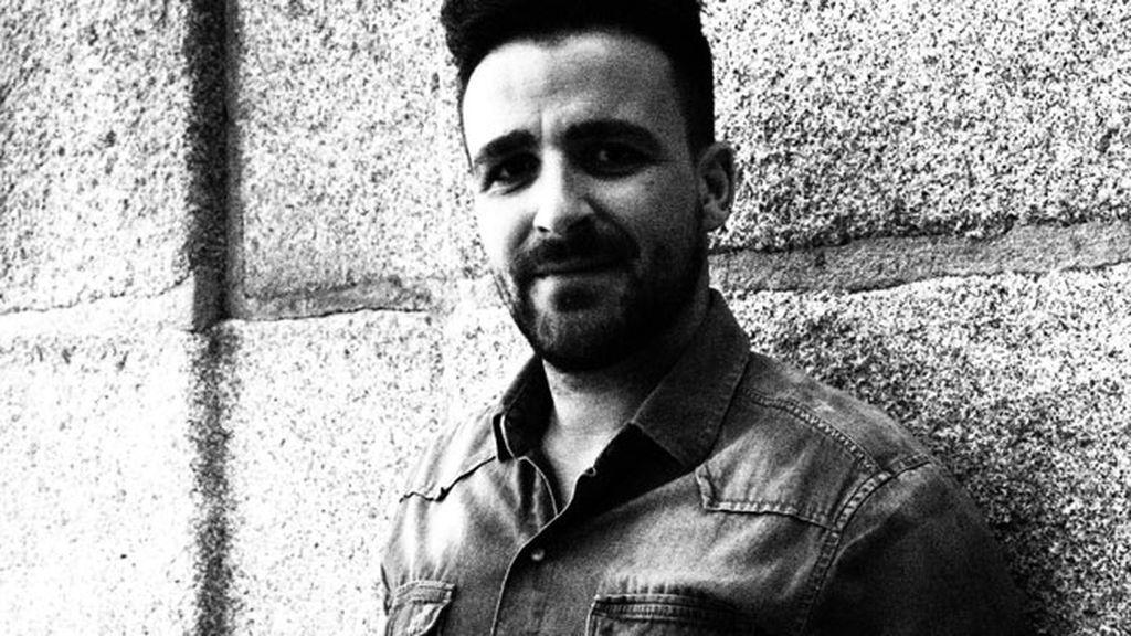 Diego Cantero, en blanco y negro