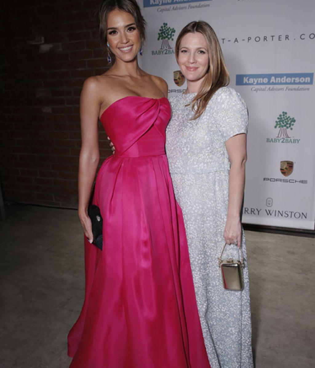 Jessica Alba y Drew Barrymore
