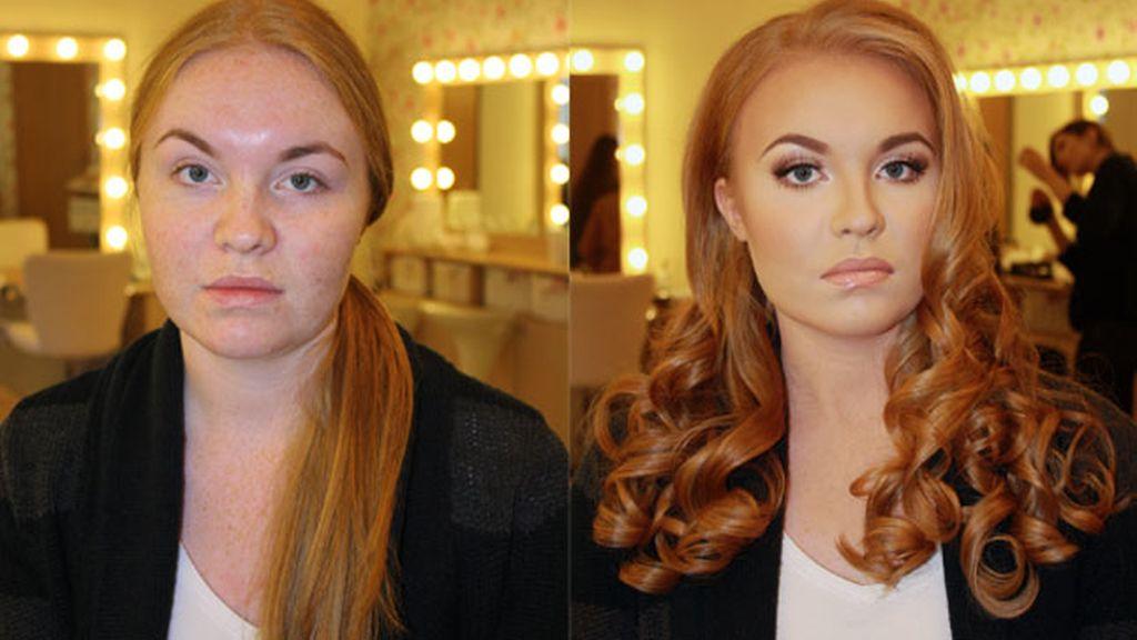 cuelga,reddit,maquillaje,transformación,lo que puede hacer,apariencia