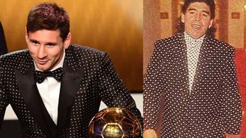 Leo Messi, Maradona, futbol