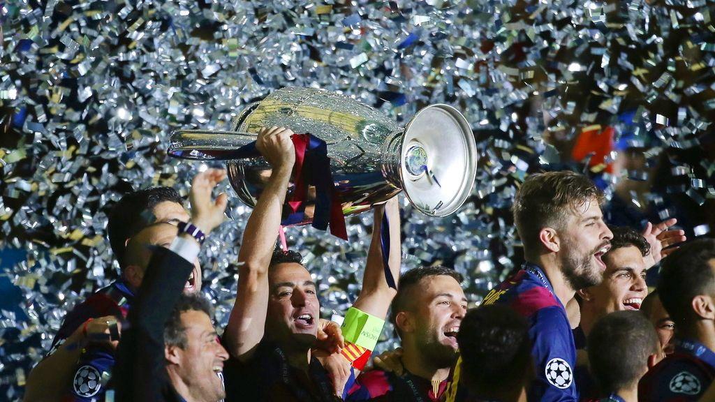El FC Barcelona logra su quinta Liga de Campeones de la historia