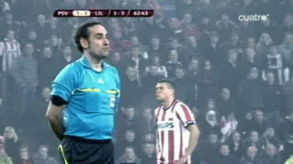 El show de Iturralde González en la Europa League