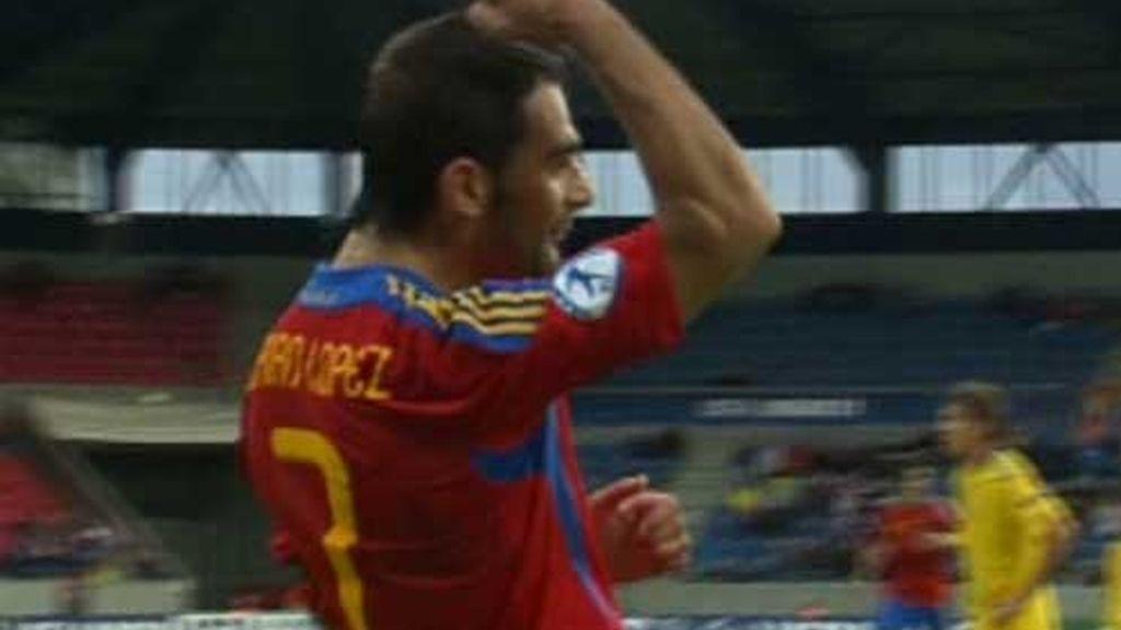 Gol de Adrián López